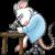 Careers - Ozgene Scientist mouse