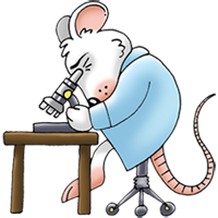 Scientist mouse