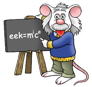 Einstein mouse